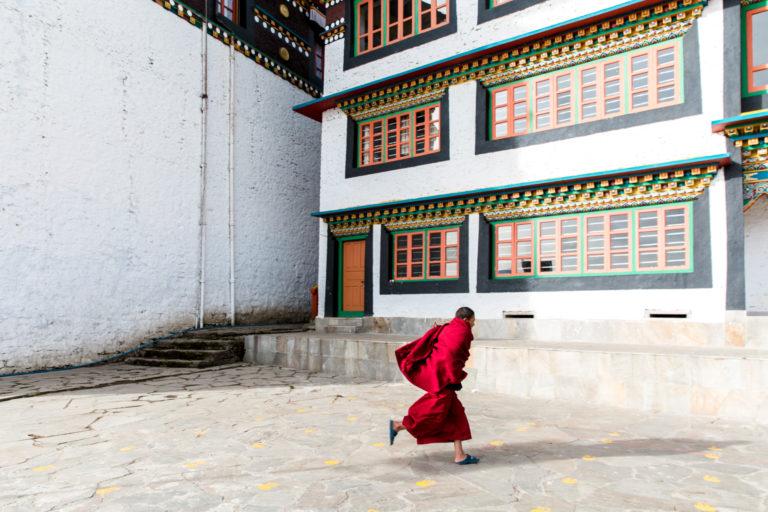 2 - Monk at Tawang Monastery