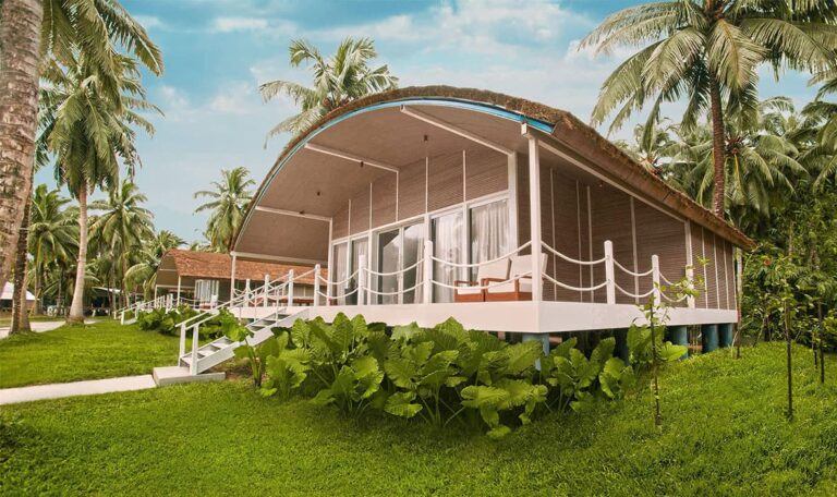Taj Exotica Resort & Spa Andamans exterior.