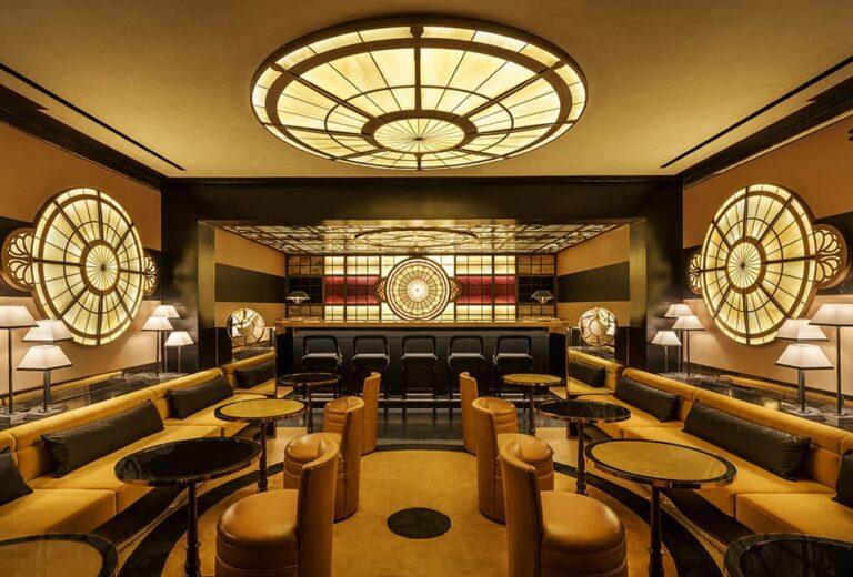 Six Senses Duxton dining area.