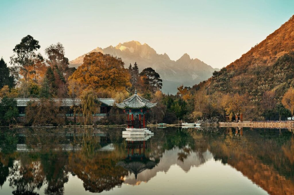 Mountains of Lijiang.