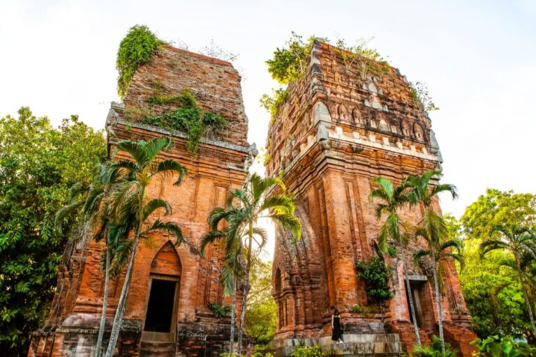 Cham ruins outside of Quy Nhon.