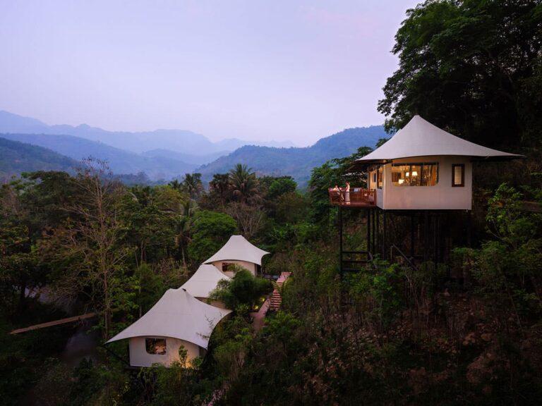 Rosewood Luang Prabang exterior.