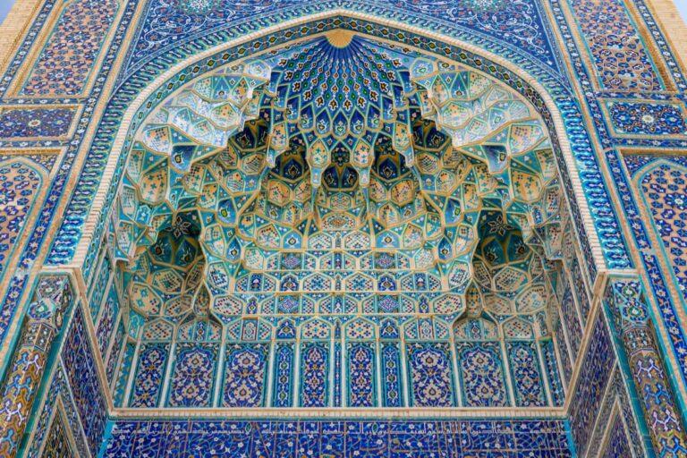 Gur-e-Amir Mausoleum.