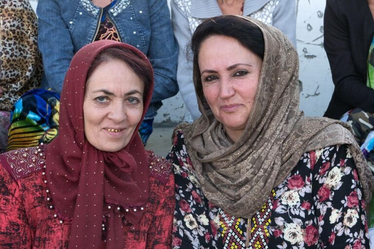 Wakhan Women on the Pamir Highway.