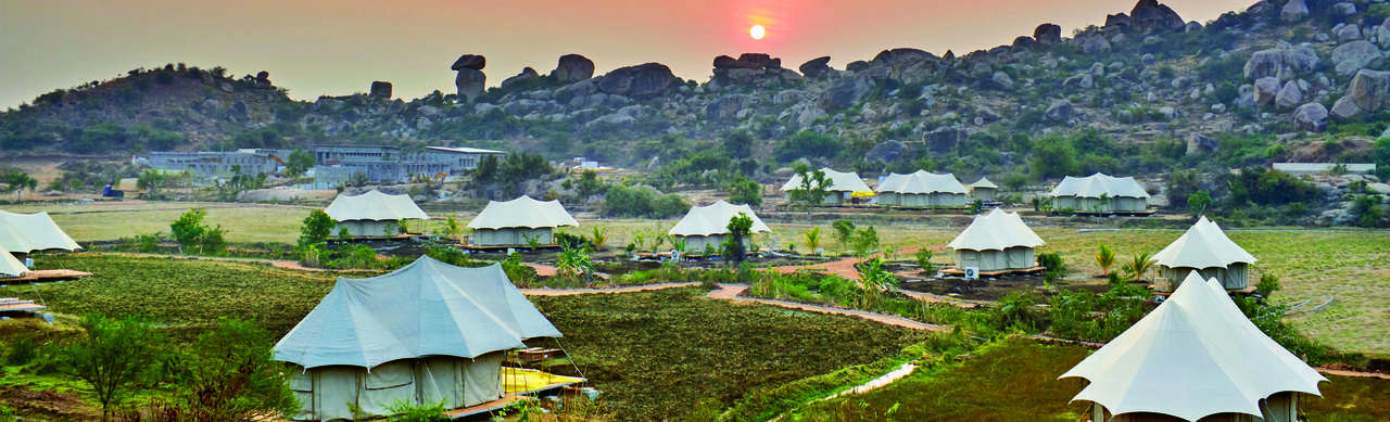 The Ultimate Traveling Camp Hampi.