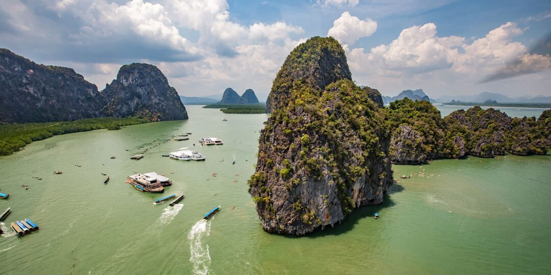 Phang Nga Chopper: James Bond Island and Secret Lagoons
