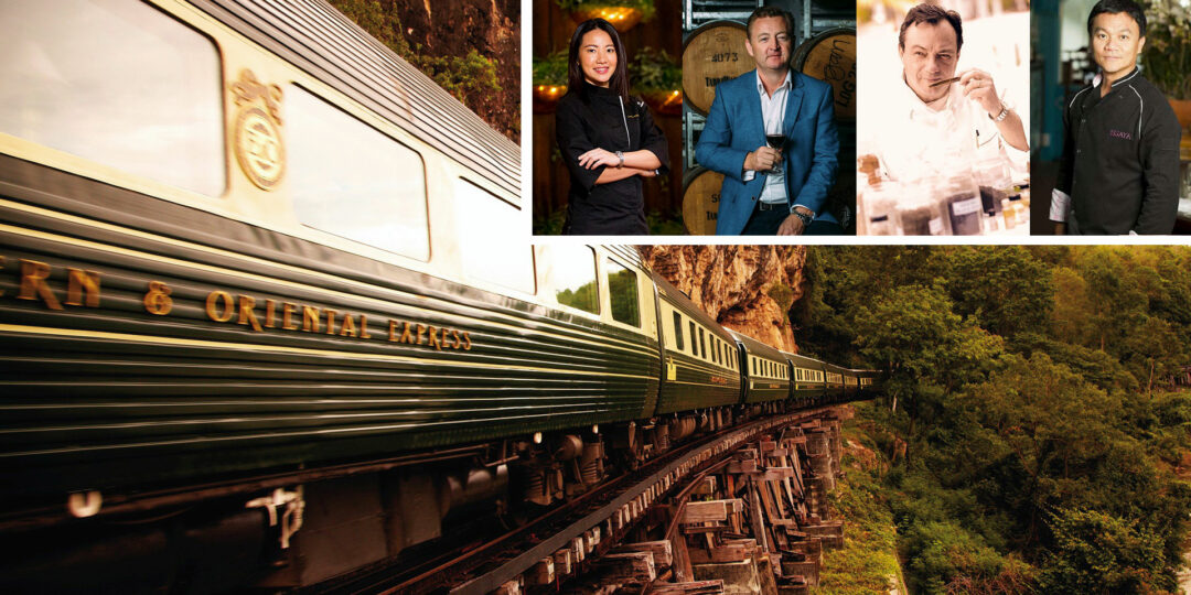 Celebrity Chefs Climb Aboard the Eastern & Oriental Express in 2019
