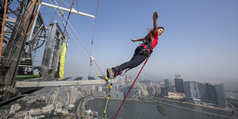 Daredevilry and Dining at Mocha Macao Tower Bungee Jump