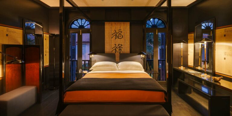 Opium Suite to the Merchant Room: Inside Singpaore's Six Senses Maxwell and Duxton