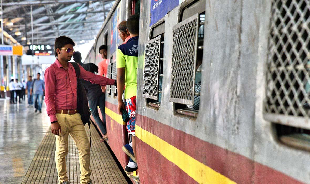 Beauty and Bedlam in Mumbai's Hectic Chhatrapati Shivaji