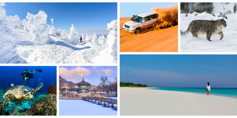 Still Time to Book an Asia Winter Getaway with these 10 Hot and Cold Destinations